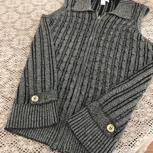 3X Black and Gold Sweater